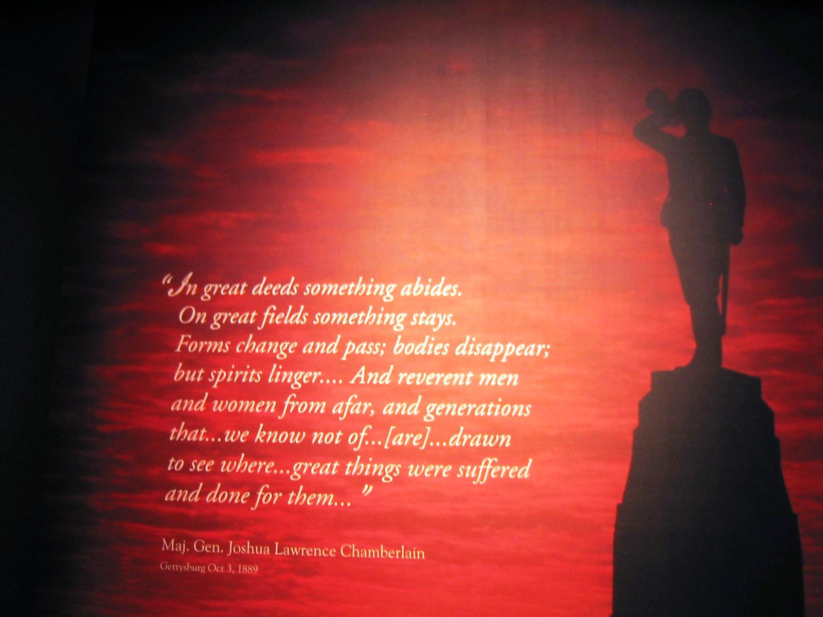 Joshua Chamberlain's quote #8