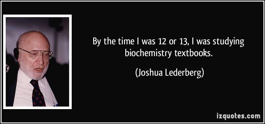 Joshua Lederberg's quote #4