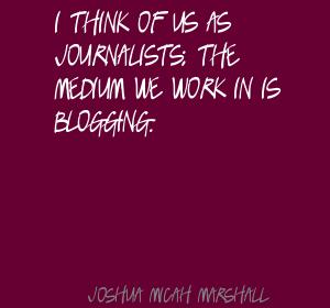 Joshua Micah Marshall's quote #3