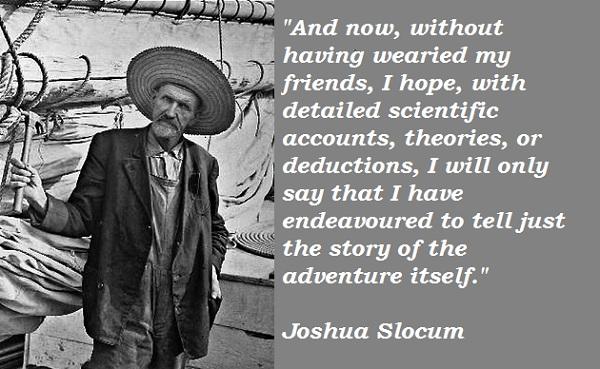 Joshua Slocum's quote #2