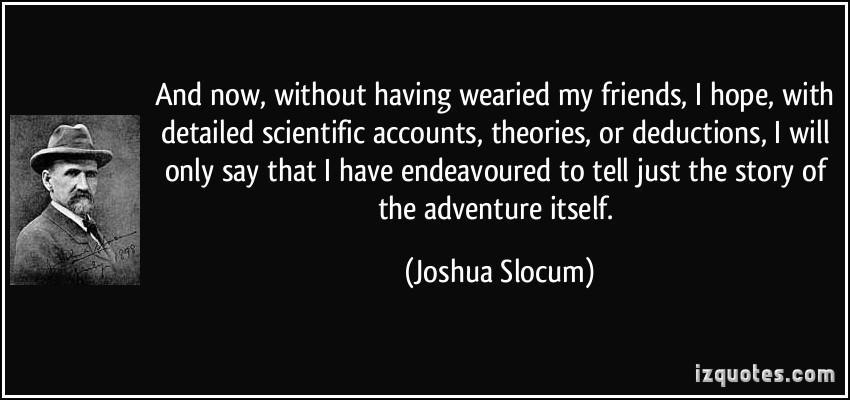 Joshua Slocum's quote #3
