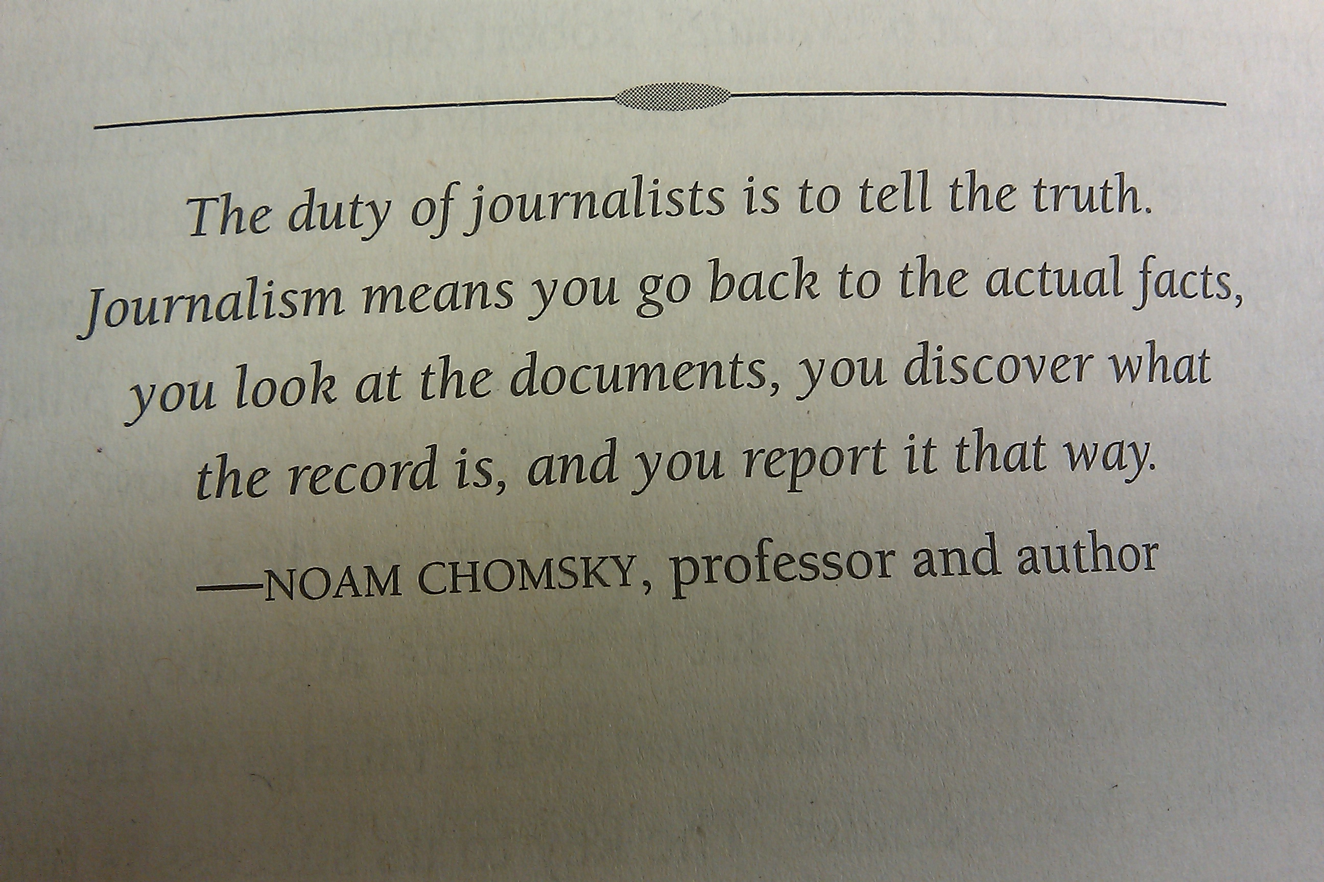 Journalism quote #4