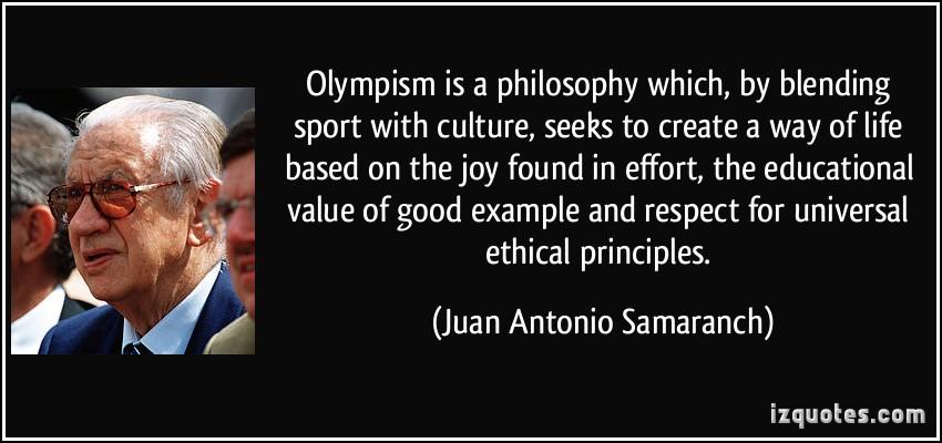 Juan Antonio Samaranch's quote #4