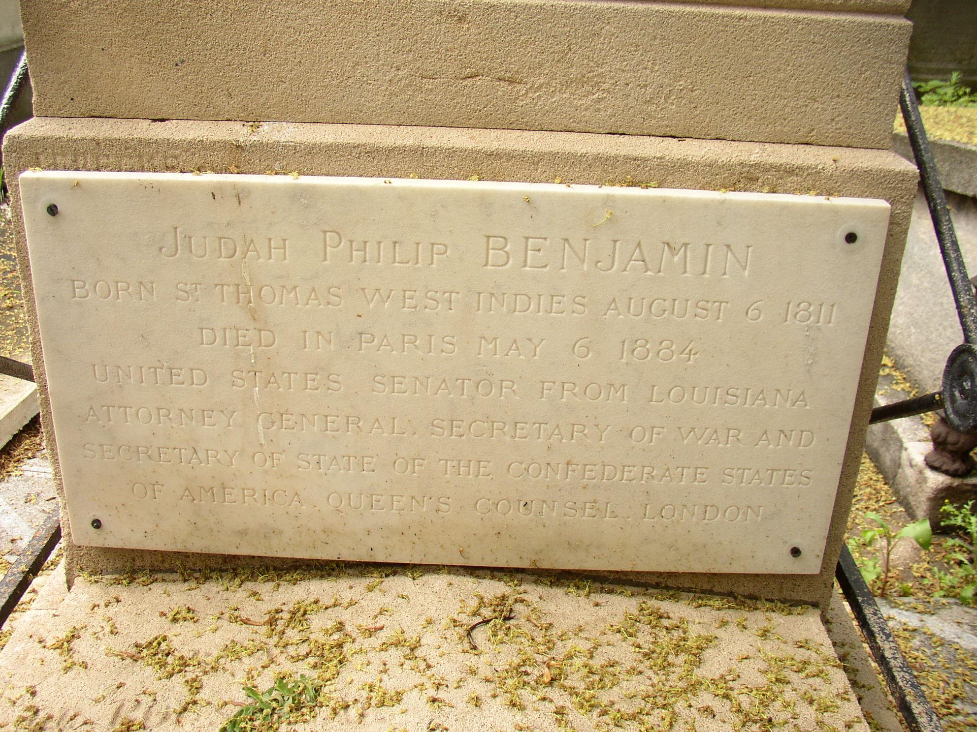 Judah Philip Benjamin's quote