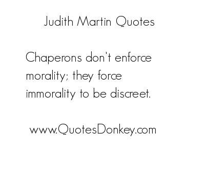 Judith Martin's quote #7