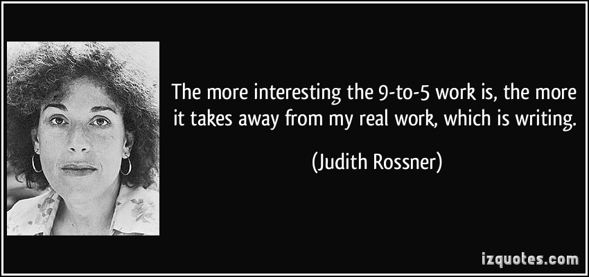 Judith Rossner's quote #2