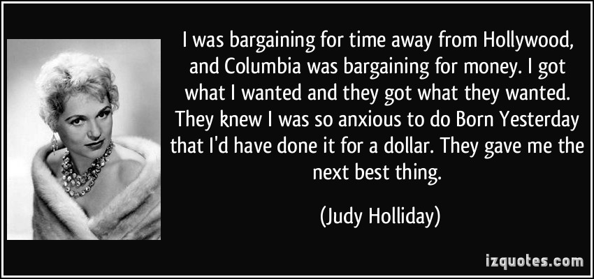 Judy Holliday's quote #7