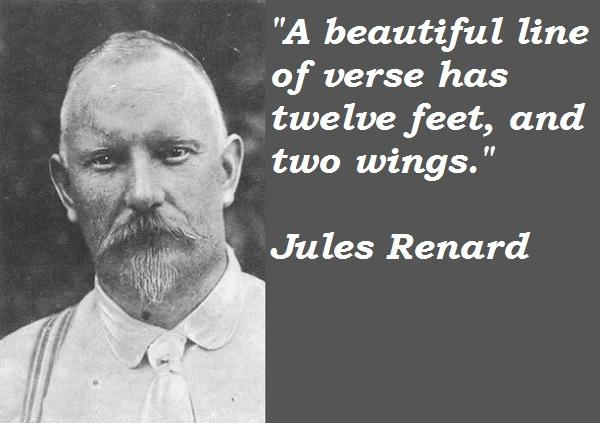 Jules Renard's quote #1