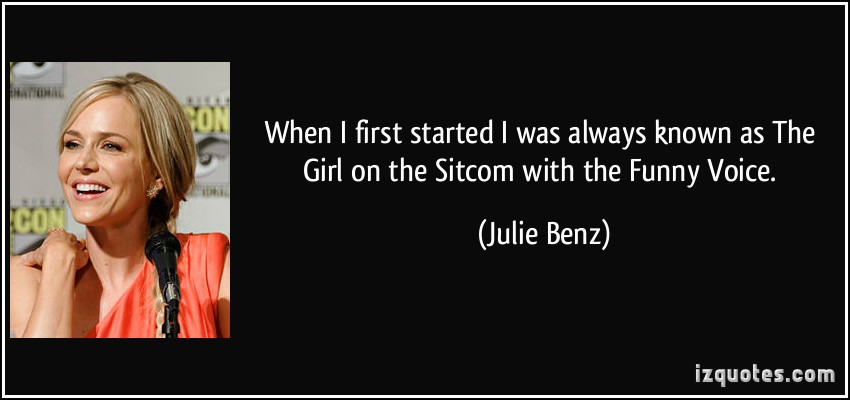 Julie Benz's quote #7