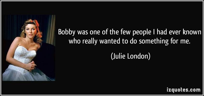 Julie London's quote #2