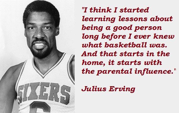 Julius Erving's quote #5