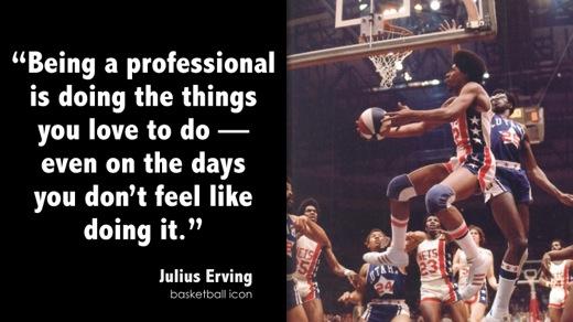 Julius Erving's quote #8