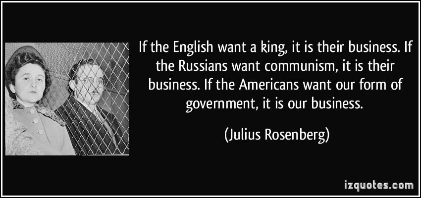 Julius Rosenberg's quote #1