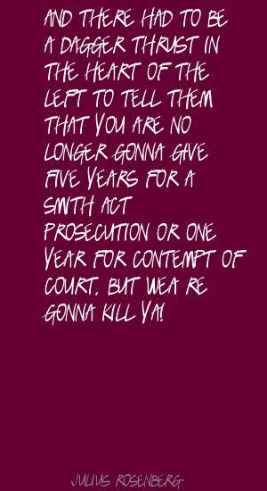 Julius Rosenberg's quote #5