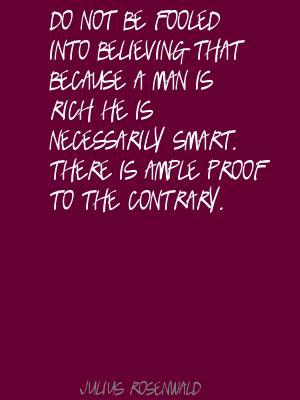 Julius Rosenwald's quote #1