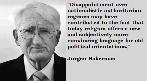 Jurgen Habermas's quote #4
