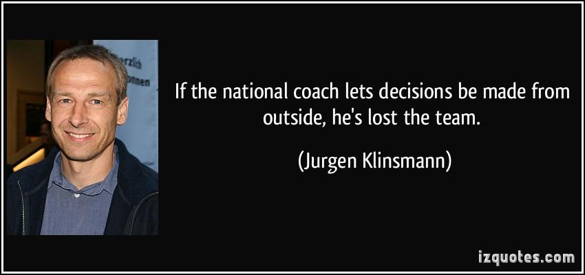 Jurgen Klinsmann's quote #2