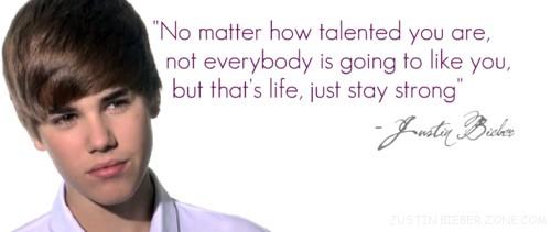 Justin Bieber's quote #2