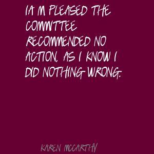 Karen McCarthy's quote #1