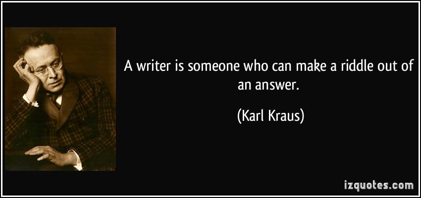 Karl Kraus's quote #4