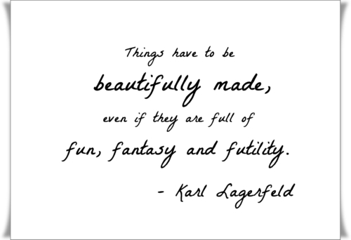 Karl Lagerfeld's quote #5