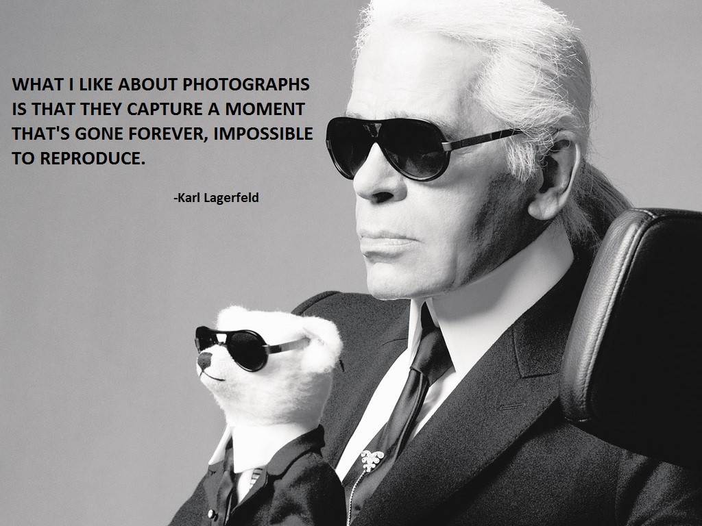 Karl Lagerfeld's quote #3
