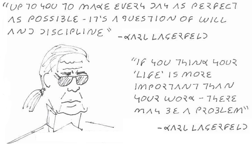 Karl Lagerfeld's quote #1