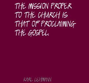 Karl Lehmann's quote #4
