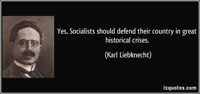 Karl Liebknecht's quote #2