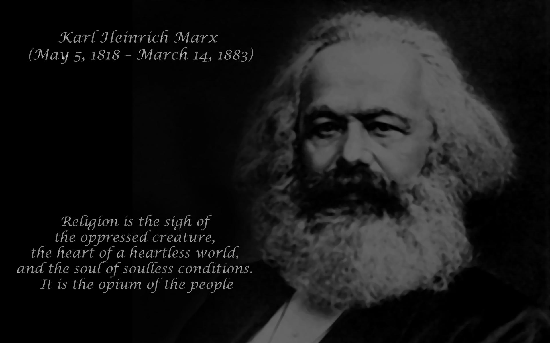 a biography of karl marx a communist philosopher Karl marx was the founder of modern communist thought along with friedrich engels this movement, while noble in intention philosophy pages.