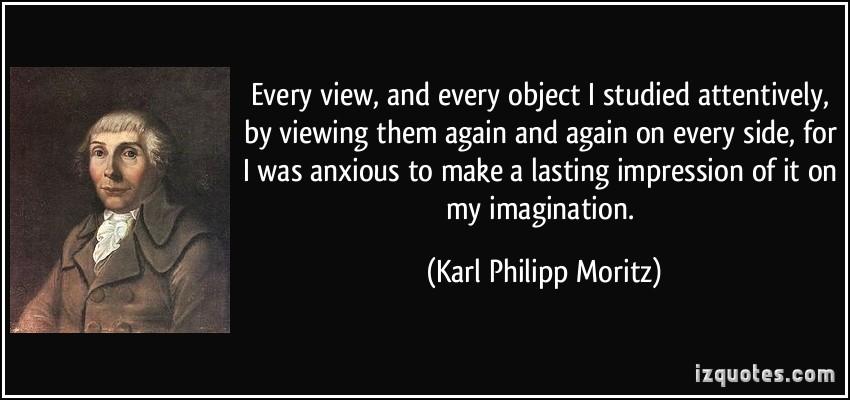 Karl Philipp Moritz's quote #5
