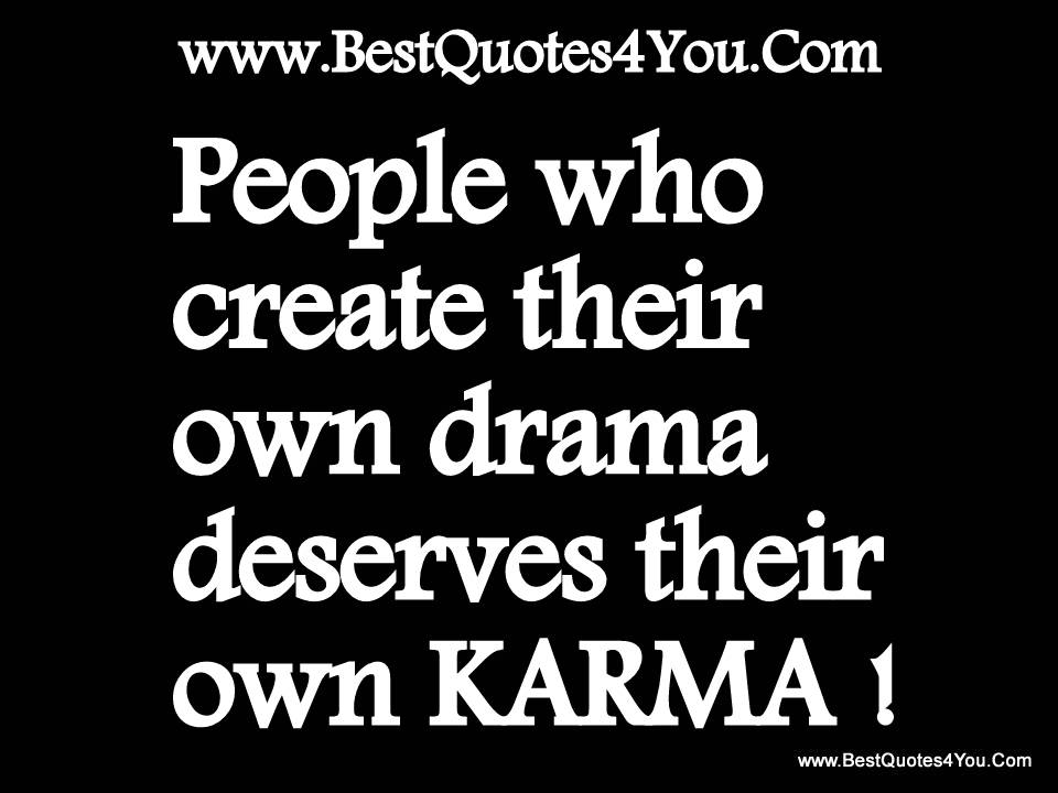 Karma Quotes Sayings: Famous Quotes About 'Karma'