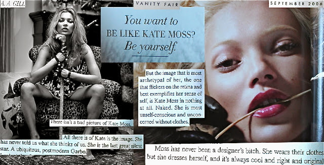 Kate Moss's quote
