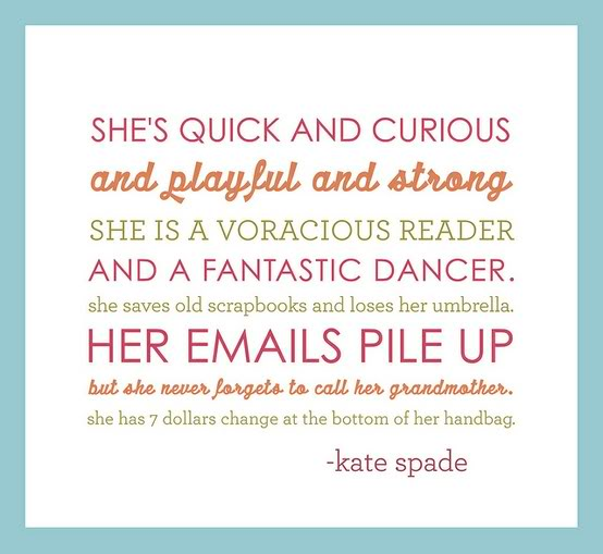 Kate Spade's quote
