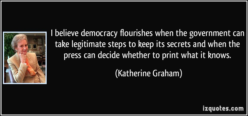 Katherine Graham's quote #1