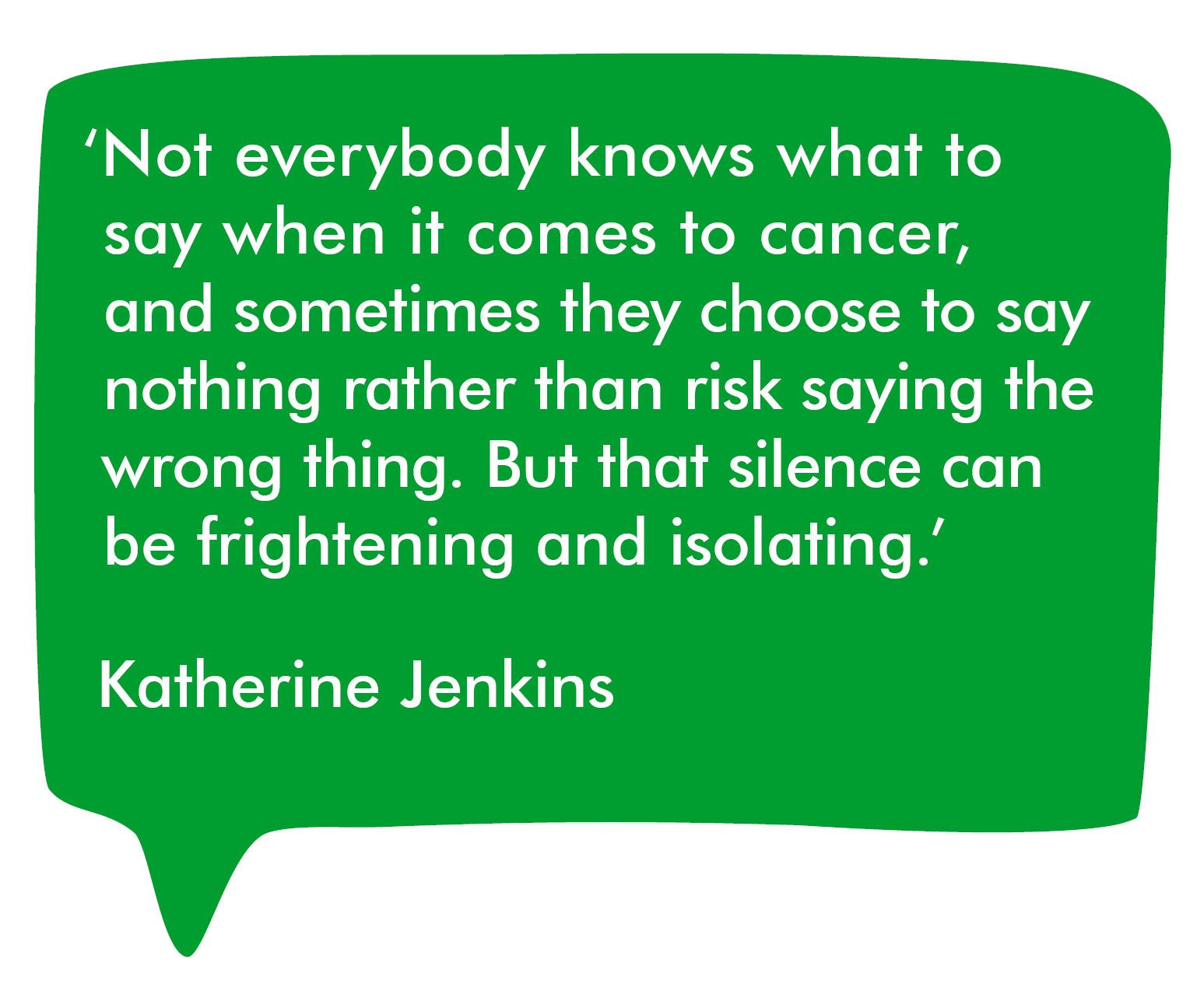 Katherine Jenkins's quote #7