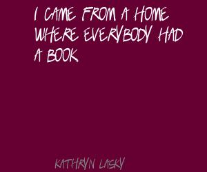 Kathryn Lasky's quote #6