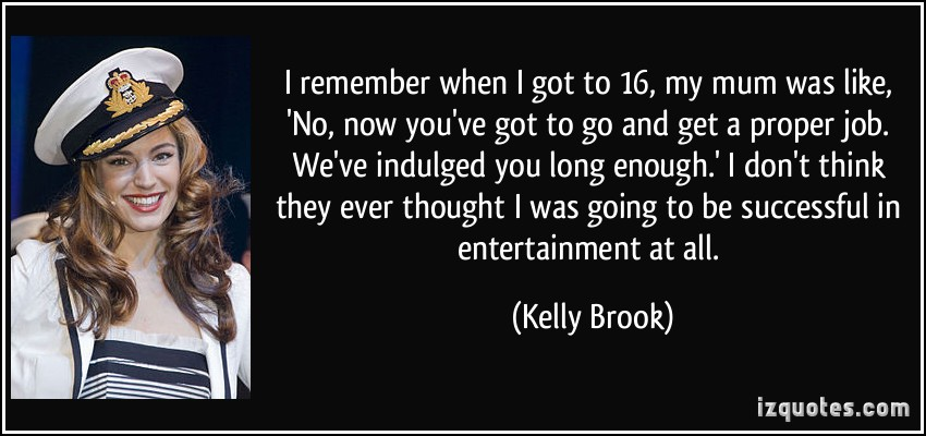 Kelly Brook's quote #6