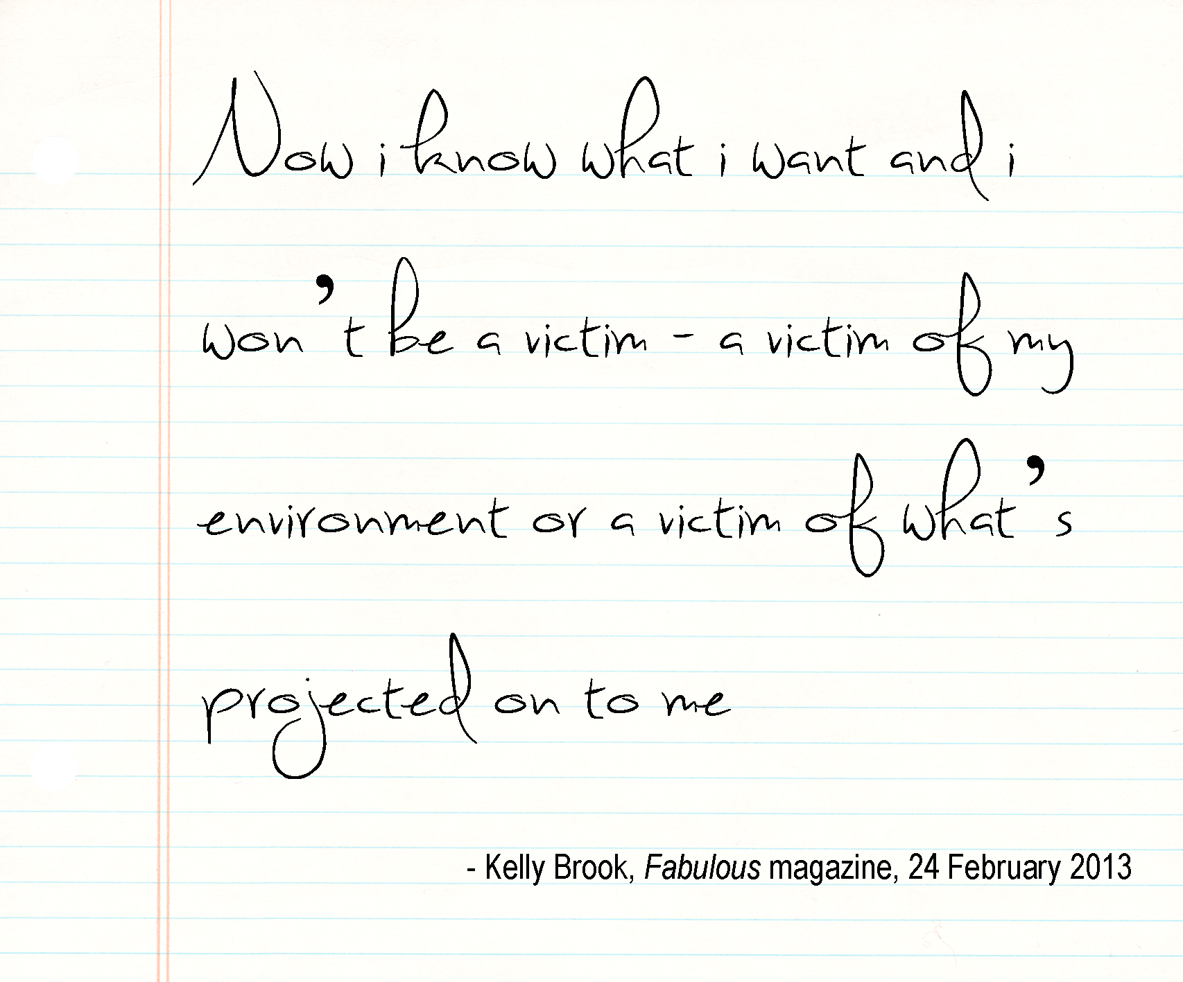 Kelly Brook's quote #3