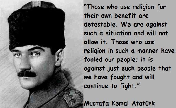 Kemal Ataturk's quote #2