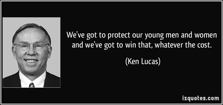 Ken Lucas's quote #1