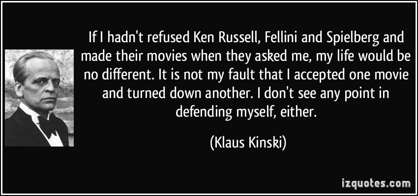 Ken Russell's quote #1