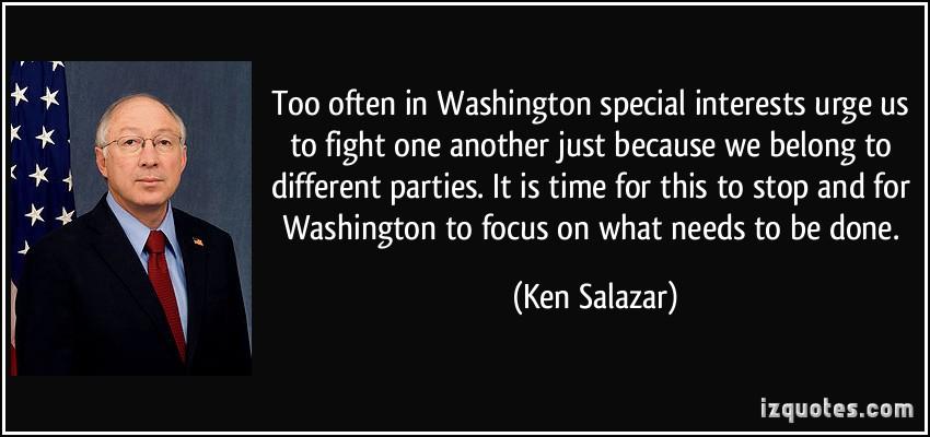 Ken Salazar's quote #3