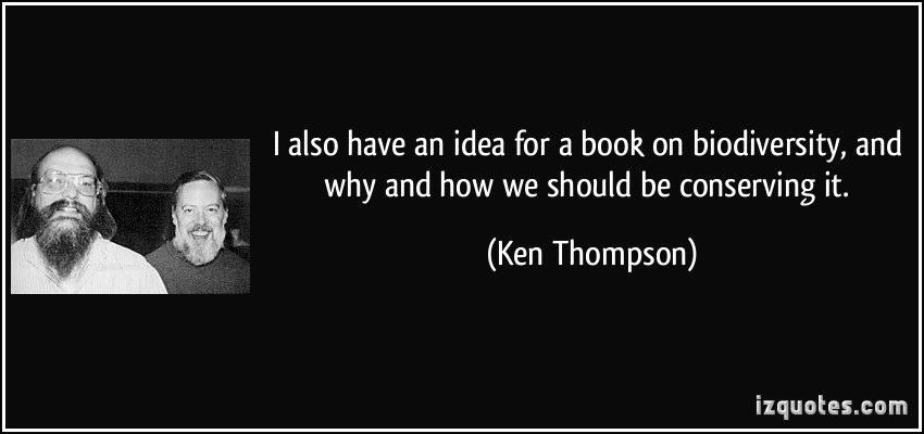 Ken Thompson's quote #1