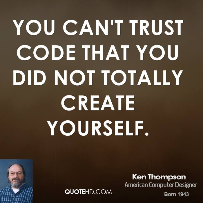 Ken Thompson's quote #3