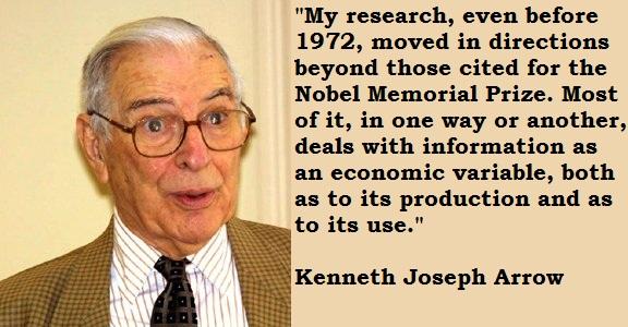 Kenneth Joseph Arrow's quote #1