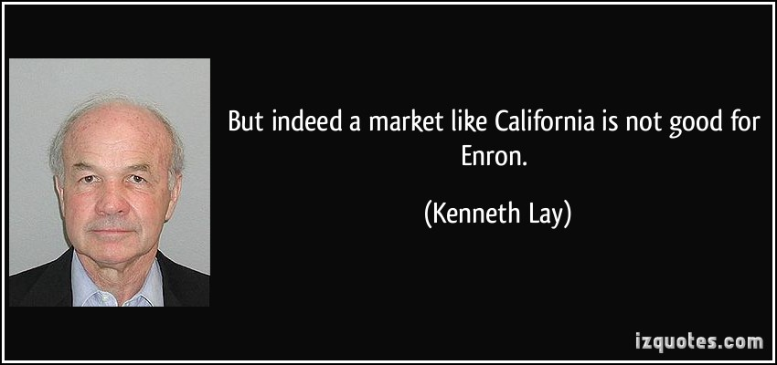 Kenneth Lay's quote