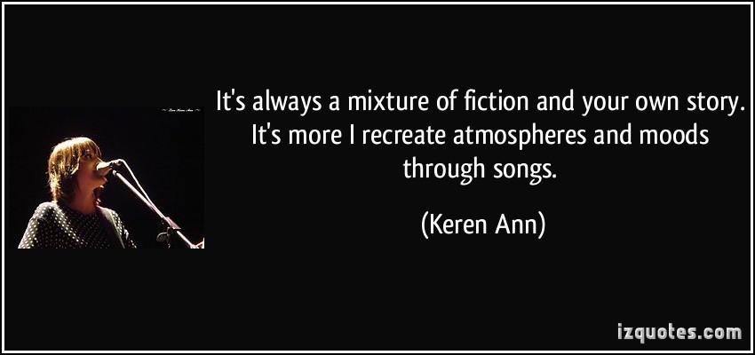Keren Ann's quote