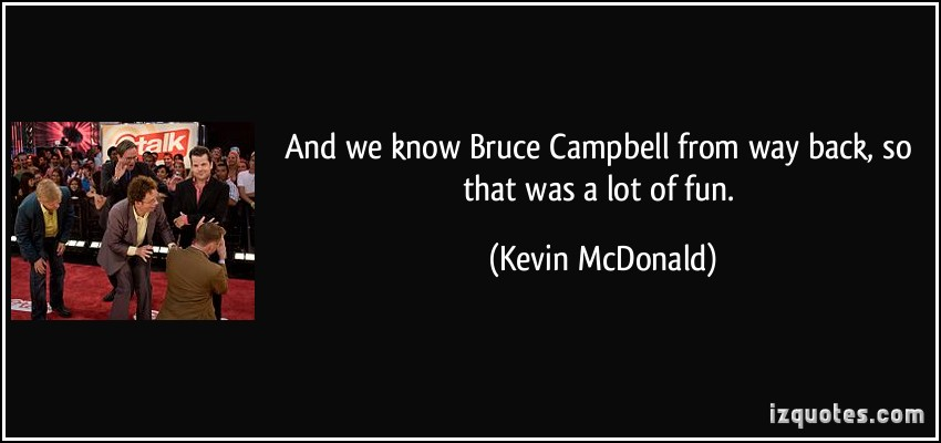 Kevin McDonald's quote #1