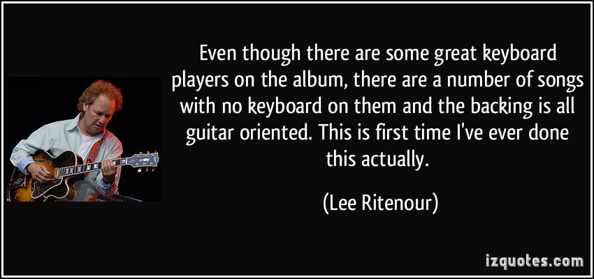 Keyboard Player quote #1